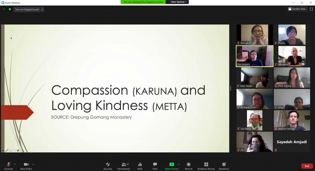 Dharma Sharing on Compassion