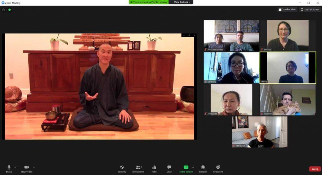 Dharma talk by Guo Gu