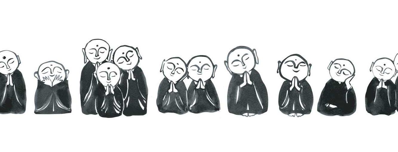 Meditation + Tea + Sangha Meeting (online)